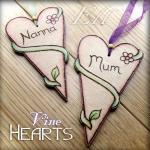 Nature Hearts - personalise..