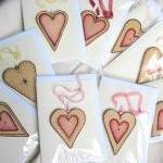 Personalized wood HEART - c..